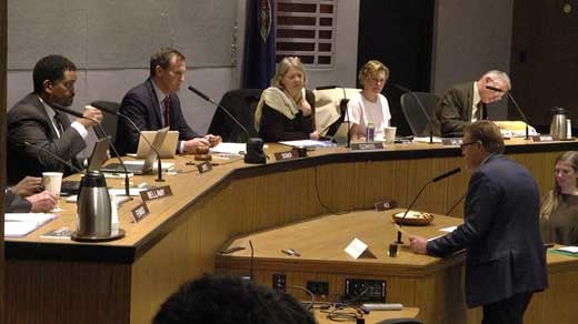 at City Council's meeting