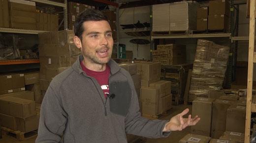 Josh Gordon, Store Your Board founder