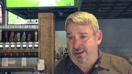Bob Sanders, chief beer officer