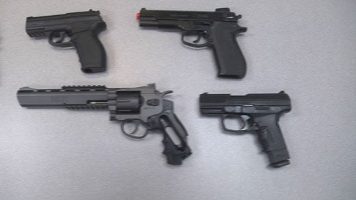 Albemarle County and Charlottesville police are warning that people might now know difference between real and toy guns