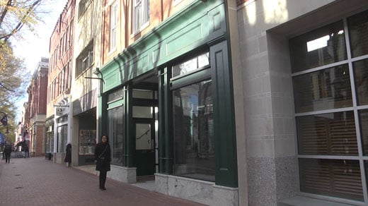 The spot for Brasserie Saison on the Downtown Mall