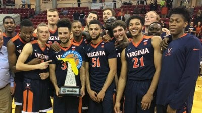 The Virginia men's basketball team won its fourth-consecutive regular season tournament championship