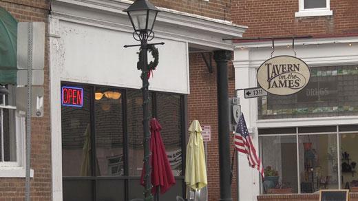 Tavern on the James in Scottsville