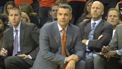 Virginia head coach Tony Bennett