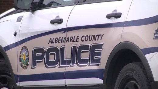 Albemarle County police car