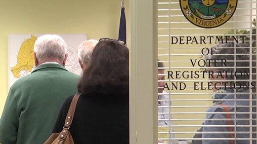 Department of Voter Registration and Elections in Albemarle County (FILE)