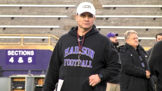 JMU head coach Mike Houston