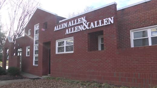 Office for Allen and Allen in Albemarle County