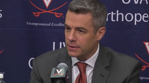 UVA men's basketball coach Tony Bennett