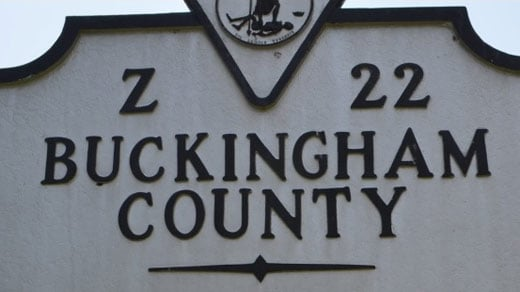 Photo courtesy www.buckinghamcountyva.org