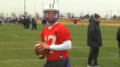 JMU junior quarterback Bryan Schor