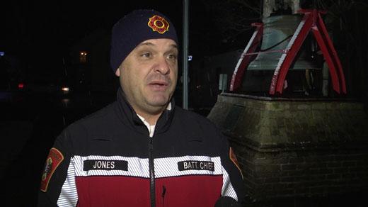 Richard Jones with the Charlottesville Fire Department