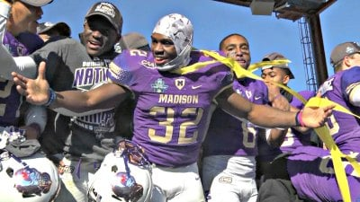 Senior running back Khalid Abdullah was named FCS Championship MVP