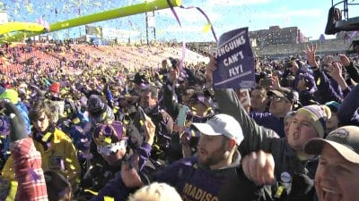 James Madison played in front of a pro-Dukes crowd in Frisco, Texas