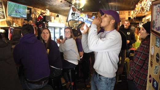JMU watch party at Jack Brown's in Charlottesville