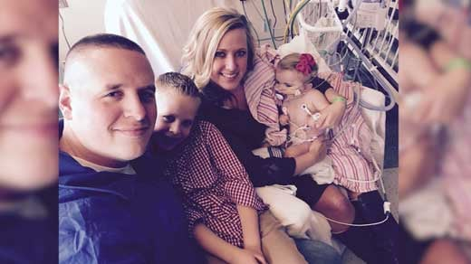 Officer Eric Ketchum and his family