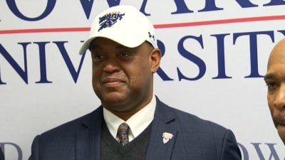Mike London is introduced as Howard University's new Head Football Coach