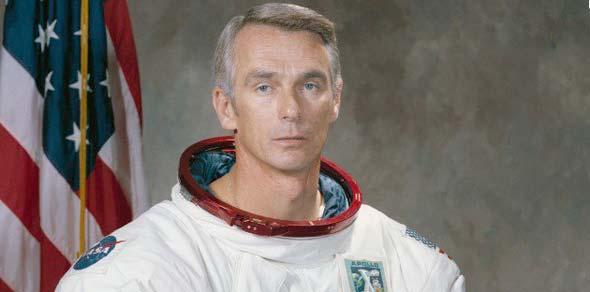 Eugene Cernan, courtesy of NASA