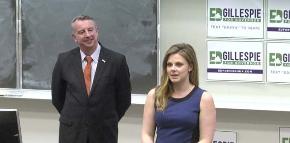 Ed Gillespie speaking to UVA College Republicans in January 2017