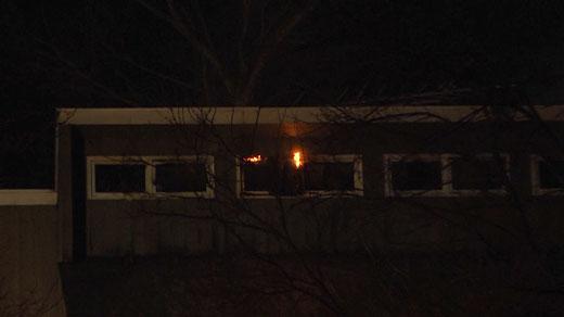Milton Hills Drive house fire