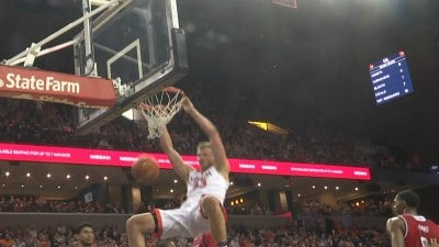 Jack Salt Dunks on Louisville