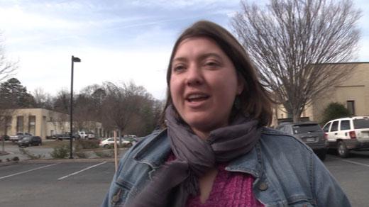 Kelsey Cowger, protester