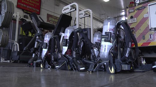 Staunton Fire Departments' new air packs