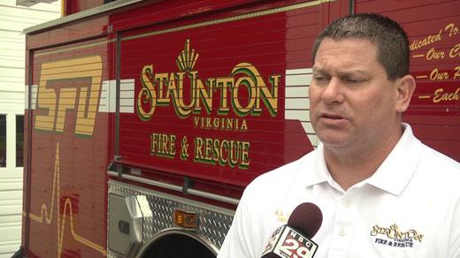 Fire Chief Scott Garber