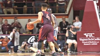 Seth Allen scored 20 points for Tech, and hit the game-winning shot in overtime