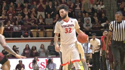 The senior point guard scored a game-high 22 points for UVa