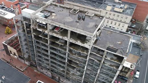 The Landmark Hotel site in Charlottesville (FILE)
