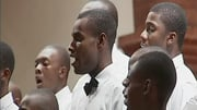 Their Haitian harmonies filled the high cathedral ceilings of Staunton's Trinity Episcopal Church Monday night.