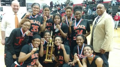The Charlottesville HS Girls Win Conference 23 Championship