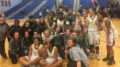 Louisa County HS Girls Basketball Wins Conference 19 Championship