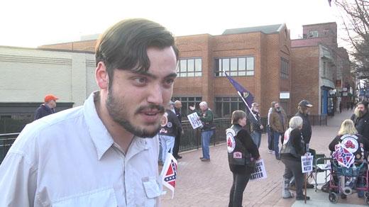 Isaac Smith, Charlottesville activist