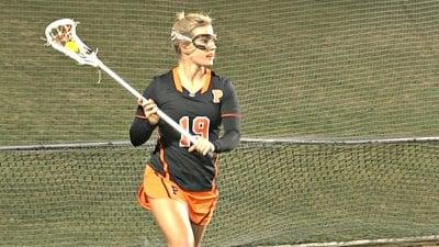Sophomore attacker Julia Haney
