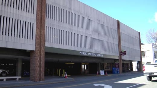 Market Street Parking Garage in Charlottesville