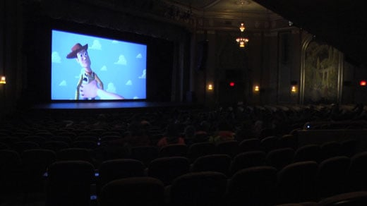 paramount theater hosts sensory screening of  u0026 39 toy story