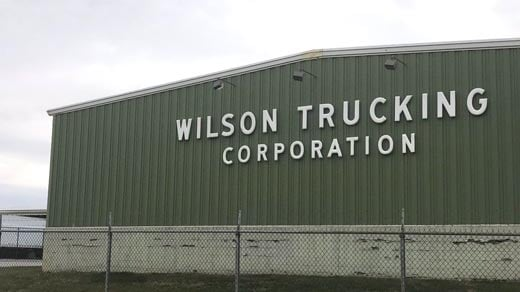 Wilson Trucking Corporation in Fishersville