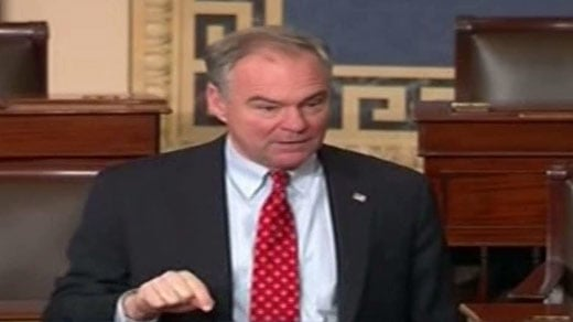 Kaine Signs Bipartisan Letter to Stop Online Harassment in Military