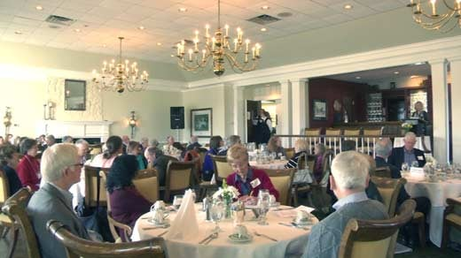 Breakfast event at the Greencroft Club in Albemarle County