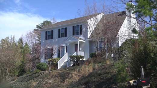 Short-term rental spot in Albemarle County