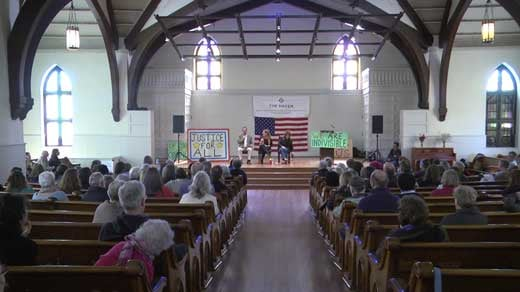 meeting of Indivisible Charlottesville at the Haven
