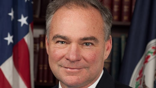 Senator Tim Kaine (Photo courtesy www.kaine.senate.gov)