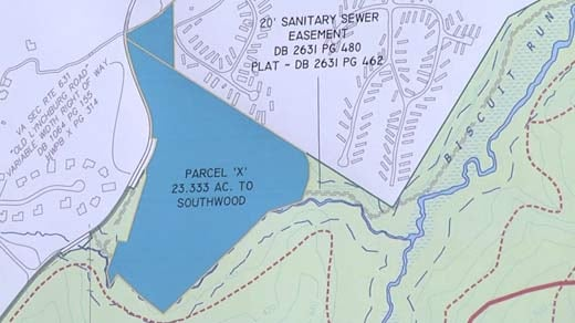 Albemarle County Land Swap Bring 21 Acres to Southwood Community