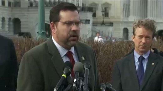 5th District Congressman Tom Garrett (left) (FILE)
