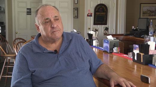 John Nagro, owner of CJ's at Byrd Street