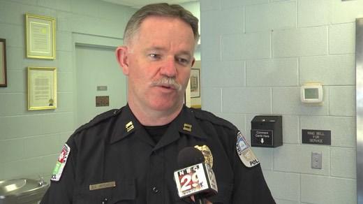 Charlottesville Police Captain Victor Mitchell
