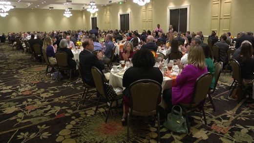 The Charlottesville Regional Chamber of Commerce held its annual spring luncheon on Tuesday