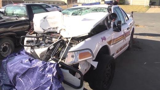 Cruiser driven by Augusta Co. Sheriff's Deputy Joe Sholes in 2013 (FILE IMAGE)